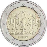 Litauen 2 Euro 2018 Gesang und Tanzfestival bankfrische Gedenkmünze