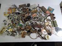 Vintage + Modern Hardware Junk Drawer Lot Over 9 1/2 pounds J9-6