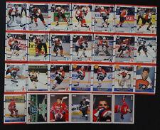 1990-91 Score American Philadelphia Flyers Team Set of 27 Hockey Cards