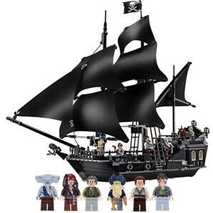 Bloc De Construction Bateau Black Pearl Pirates Des Caraïbes Compatible Lego