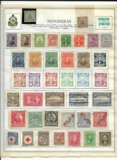 Honduras 5 Pages Unpicked 141 Stamps