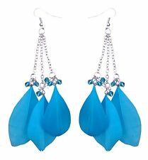 Accessories Fashion Blue Feature Dangling Earrings Set