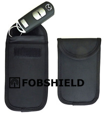 FOBSHIELD faraday cage fob pouch - protect Keyless entry car vulnerability