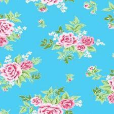 Klebefolie Möbelfolie Rosy blau Rosen 45 X 200 Cm Dekorfolie romantisch