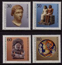 Germania Berlino 1984 oggetti d'arte SG b670-b673 MNH