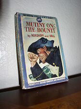 Mutiny on the Bounty by Nordhoff and Hall (Pocket #216, 1'st Print.June 1943,PB)