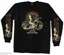 T-Shirt ML MILWAUKEE VIBRATOR - Taille L - Style BIKER HARLEY