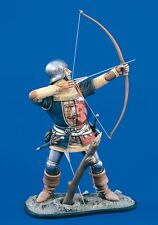 Verlinden 120mm (1/16) English Medieval Archer in Shooting Position [Resin] 1582