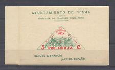 C.R NERJA ( HUELVA) B 640 HB  5CTS VERDE Y BLANCO
