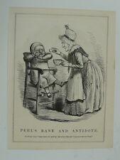 PUNCH cartoon 1845 peel`s bane and antidote