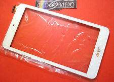 C VETRO+TOUCH SCREEN+COVER PER ACER ICONIA ONE 7 B1-780 DISPLAY FRAME BIANCO