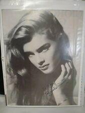 Mariel Hemingway Signed 8x10 Photo with Brooke Shields at Studio 54 RARE H475