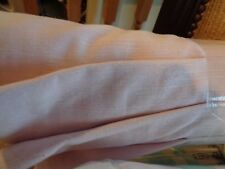 "Pottery Barn Kids Evelyn Linen blend Blackout Roman shade cordless 44"" Pink"