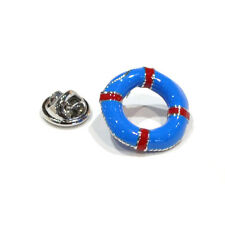 BLUE Life Bouy bavero pin badge Anello Cinghia kisby PERRY BOY Guard Regalo Scatola