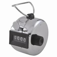Mechanical manual tally counter 4 digits golf people hand held clicker counting