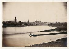 United Kingdom, Inverness, General View  Vintage albumen print. Vintage Scotland