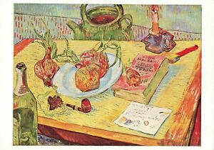 Vintage Art Postcard, Still Life with Onions by Vincent Van Gogh OI8