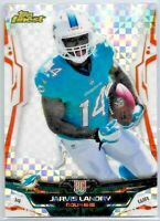2014 Topps Finest Card #102 Jarvis Landry RC X-Fractor Refractor Rookie SP