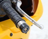 Aprilia RS125 (upto 2012) handlebar bar end weights sliders by R&G Racing