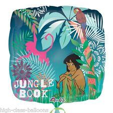 """18 """"Disney's The Jungle Book Mowgli Children's Party SQUARE Foil Balloon"""