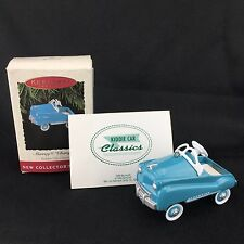 Hallmark Keepsake Ornament Blue Pedal Car Murray Champion 1st in Series
