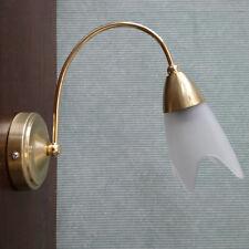 1 Light Wall Light Traditional Home Lighting in Brass EX STORE DISPLAY Litecraft