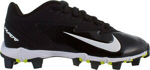 NIKE VAPOR Ultrafly Keystone Black White Baseball Cleats 856494-010 Sz 5.5Y