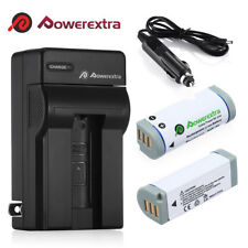 2 Pack NB-9L NB9L Li-Ion Battery+Charger for Canon PowerShot ELPH 510 520 530 HS