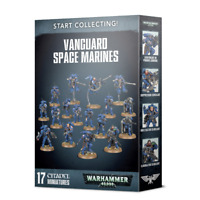 Start Collecting Vanguard Space Marines Warhammer 40K NIB Shadowspear