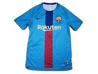 Nike Dri-Fit Authentic Soccer Futbol Football Jersey Medium FCB Barcelona Laliga