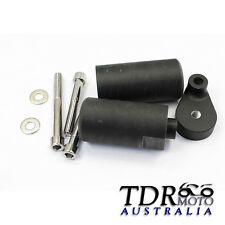 Black FRAME SLIDERS CRASH KNOW Protection for 2008-2009 Yamaha YZF R6 YZF-R6