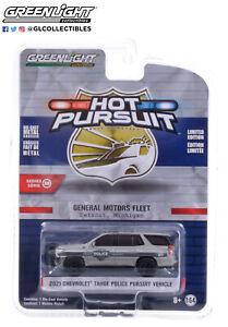 Greenlight 42960-F Hot Pursuit 2021 Chevrolet Tahoe PPV General Motors Fleet