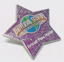 USS Universal Studios Singapore STAR Pink Annual Pass Holder Pin Badge (B192)