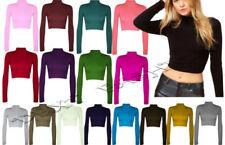 Camisas y tops de mujer de manga larga talla S