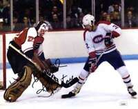 Ron Hextall JSA Coa Hand Signed 8x10 Photo Autograph