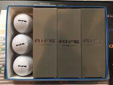 New Rife E-Motion Golf Balls - White - (1) 12-Ball Packs