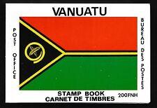 1980 VANUATU MAPS BOOKLET FINE MINT MNH/MUH
