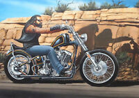 Art Print Poster / Canvas dave mann rider