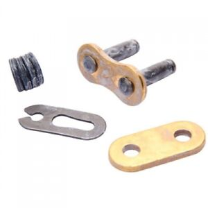 RK 520EXW Gold XW-RING Chain Clip Style Master Link GB520EXW C/L for Motorcycle