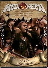Helloween - Live On 3 Continents [DVD] [2016]