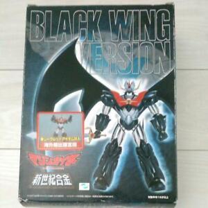 MAZIN KAISER BLACK WING VERSION Chogokin Die-cast Figure Toy 2001 From Japan