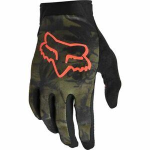 Fox Racing 2021 Flexair Ascent Gloves Olive Green