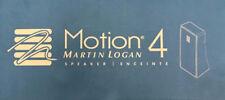 MartinLogan Motion 4 compact Speaker w/ wall-mount $250 List! AUTHORIZED-DEALER