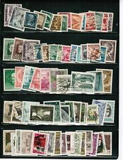 AUSTRIA GROUP OLDER - over 125 STAMPS cat  #various $50.00++ USED  LOT  303