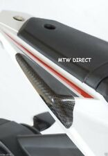 R&G RACING PAIR TAIL SLIDERS CARBON FIBRE  FOR Yamaha YZF-R125 (2018)
