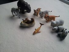 Bundle x 10 Of AAA Animals - Mixed Pre-owned set. FREE SIGNED POST