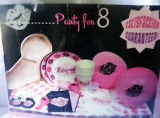hens night bachelorette party bridal shower party pack balloons willy tray plate