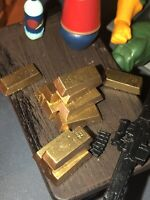 65 Diorama Gold Bars 1/12 Scale Action Figure Accessories