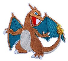 """CHARIZARD Patch (3.5"""") Iron on Badge Costume Pokemon Dragon Patches"""