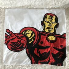 Pottery Barn Teen Iron Man Superhero Throw Pillow Case Cover Marvel Comics